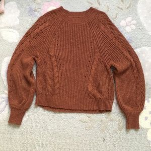 American Eagle Balloon Sleeve Sweater